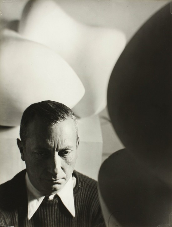 Florence Henri- Portrait de Jean Arp, 1934