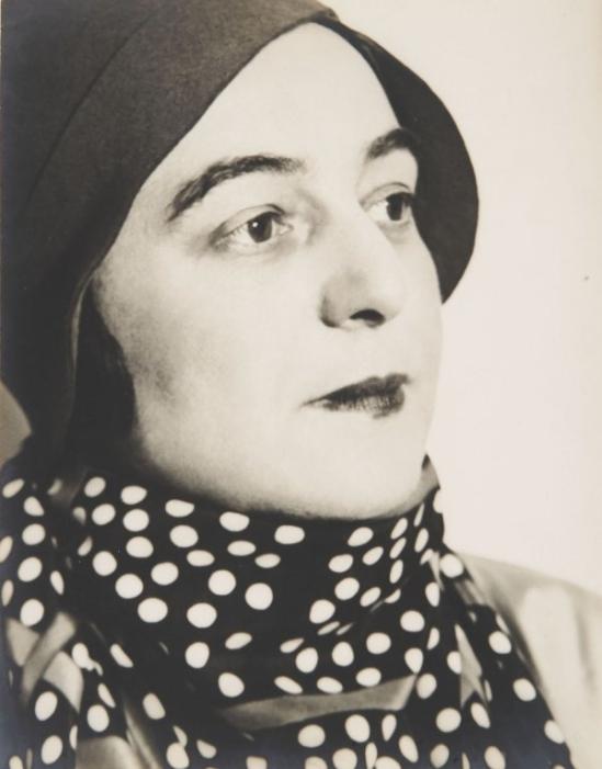 Florence Henri -Portrait of Sonia Delaunay, Paris, 1931