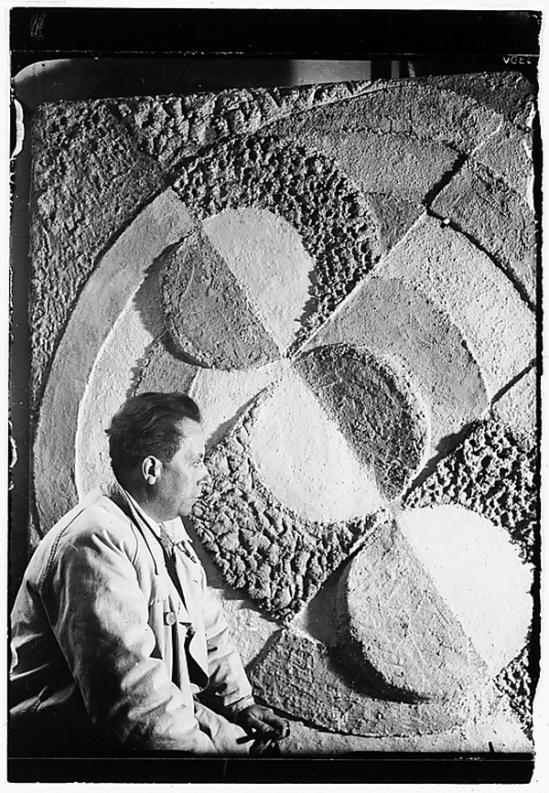 Florence Henri -Robert Delaunay, 1934