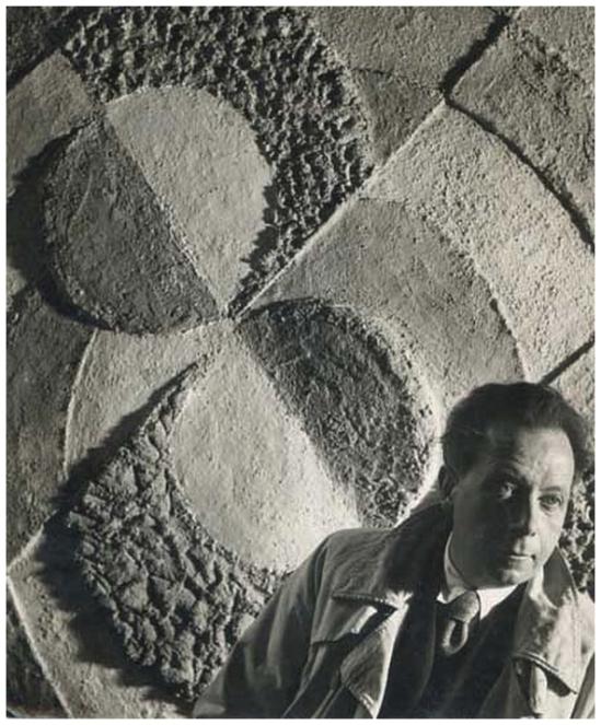 Florence Henri Robert Delaunay, 1934
