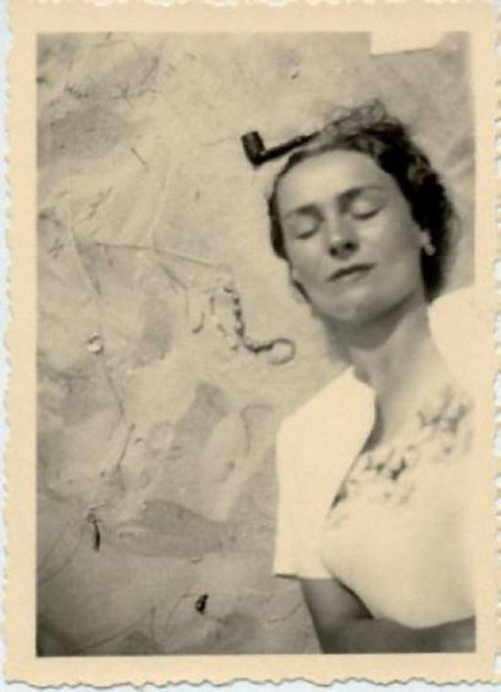 René Magritte- la marchande de sable , 1936_La Fidélité des Images