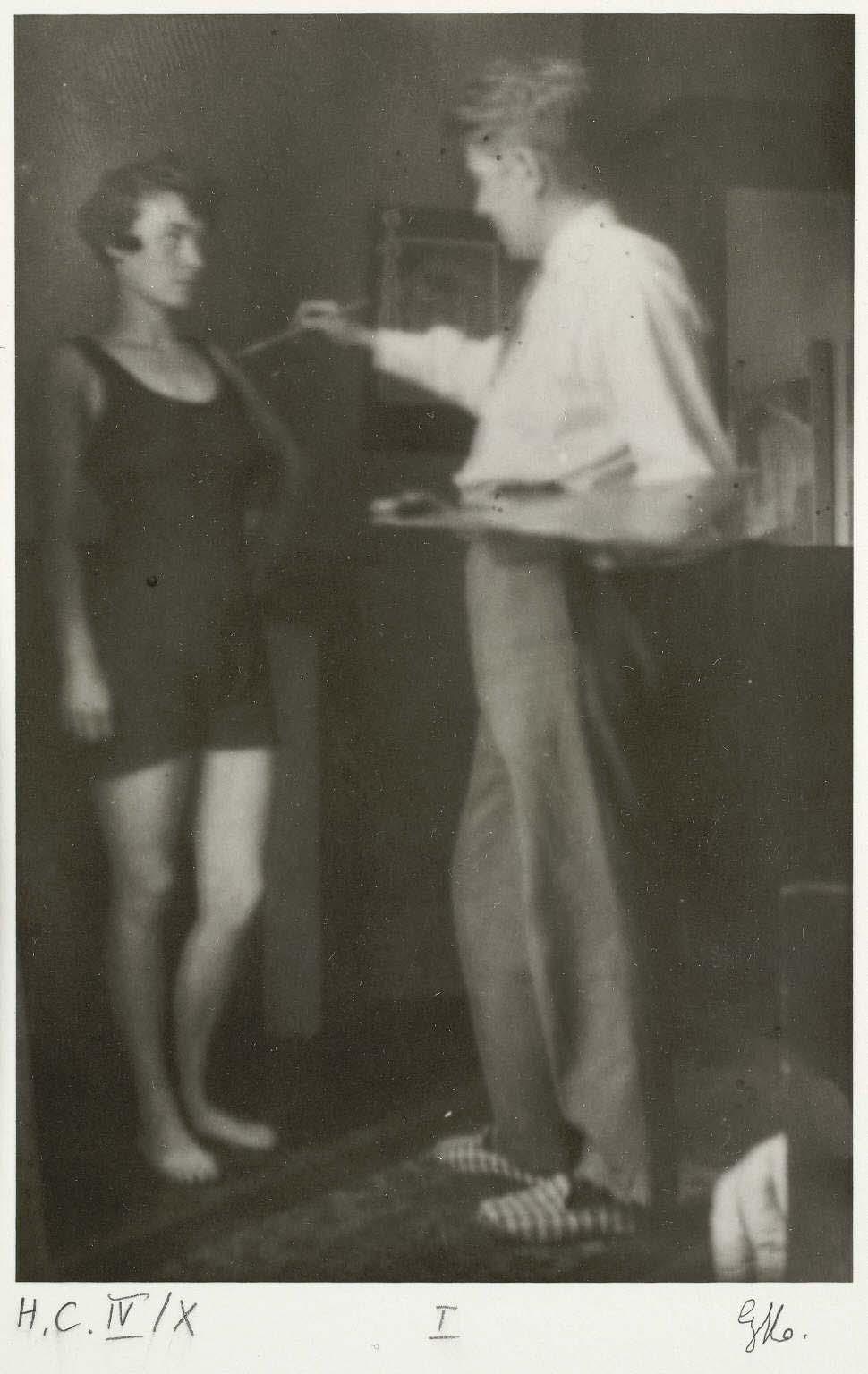 René Magritte- L'amour, 1928 La Fidélité des Images