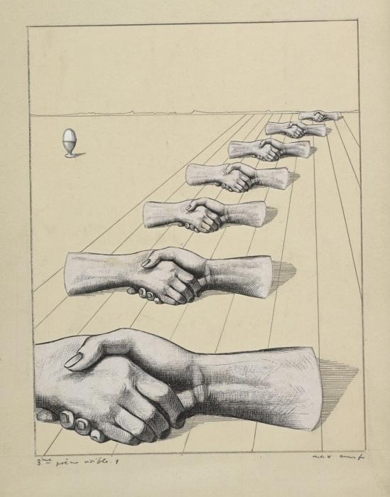 Max Ernst, Collage tiré de Une semaine de bonté, Deuxième poème visible 3, 1933 © Isidore Ducasse Fine Arts. Photo Peter Ertl. © ADAGP