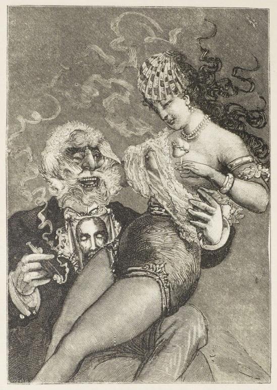 Max Ernst, Collage tiré de Une semaine de bonté, Le lion de Belfort 22, 1933 © Isidore Ducasse Fine Arts. Photo Peter Ertl. © ADAGP