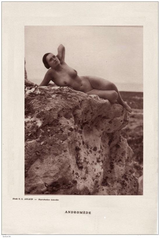 Etude G. L Arlaud  -Andromède, 1930