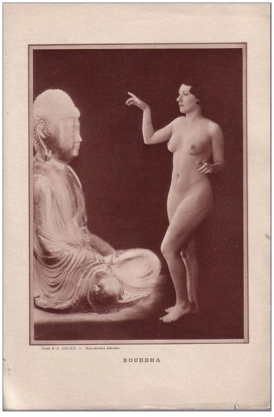 Etude G. L Arlaud - Bouddha, 1930