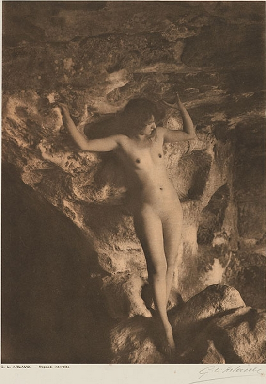 Etude G. L Arlaud -Cariatide, from Vingt Études de Nu en Plein Air, 1920