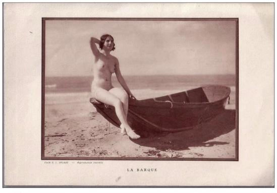 Etude G. L Arlaud - La Barque, 1930