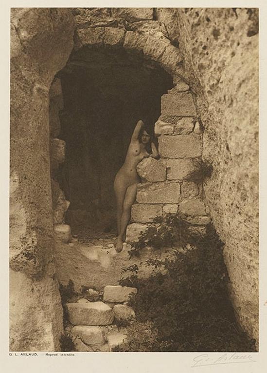 Etude G. L Arlaud -La Gardienne du Chateau, from Vingt Études de Nu en Plein Air, 1920