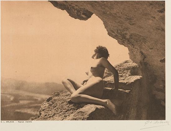 Etude G. L Arlaud -La Grotte, from Vingt Études de Nu en Plein Air, 1920