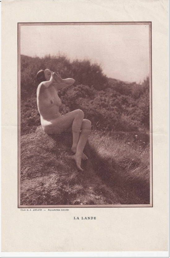 Etude G. L Arlaud  -La Lande, 1930