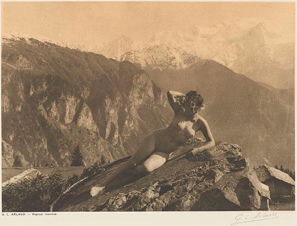 Etude G. L Arlaud -L'alpe, from Vingt Études de Nu en Plein Air, 1920