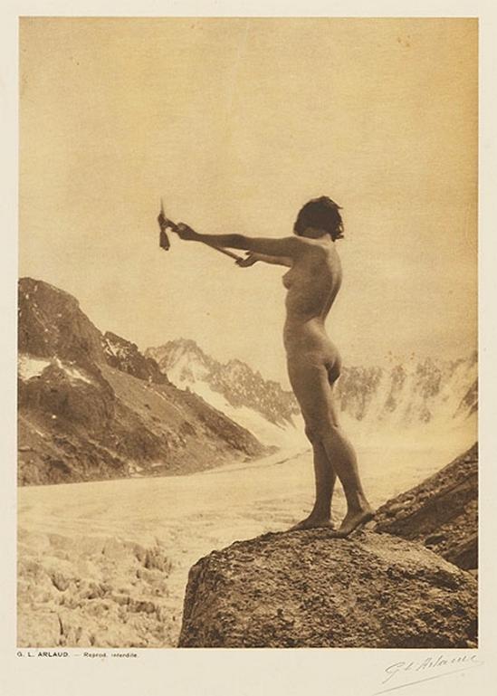 Etude G. L Arlaud -L'Appel de la Montagne, from Vingt Études de Nu en Plein Air, 1920