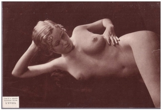 Etude G. L Arlaud - L'éveil ,1930