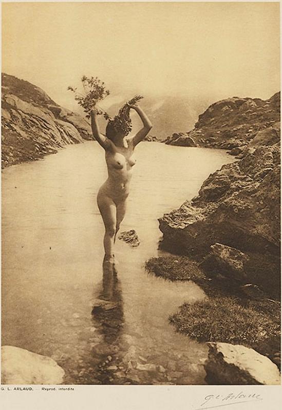 Etude G. L Arlaud -Le Lac Blanc, from Vingt Études de Nu en Plein Air, 1920
