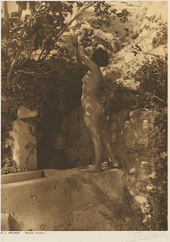 Etude G. L Arlaud -Le Puits, from Vingt Études de Nu en Plein Air, 1920