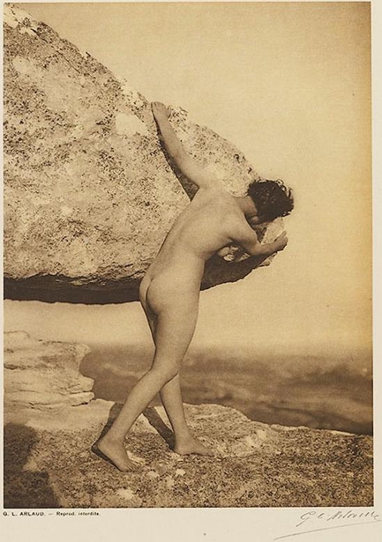 Etude G. L Arlaud -Le Roc, from Vingt Études de Nu en Plein Air, 1920