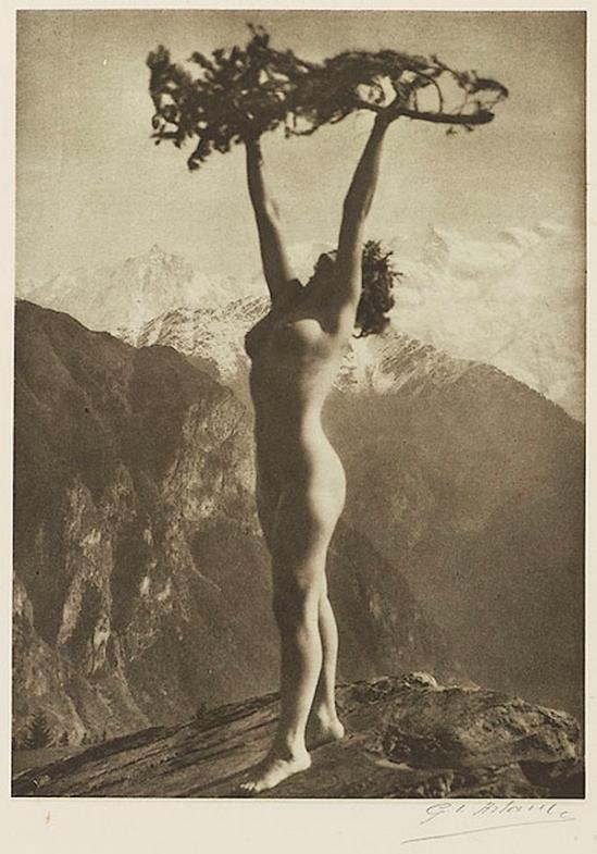 Etude G. L Arlaud -Le Sapin, from Vingt Études de Nu en Plein Air, 1920