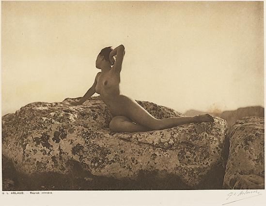 Etude G. L Arlaud -Le Vent, from Vingt Études de Nu en Plein Air, 1920