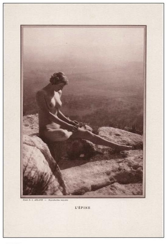 Etude G. L Arlaud - l'Epine, nu érotique 1930