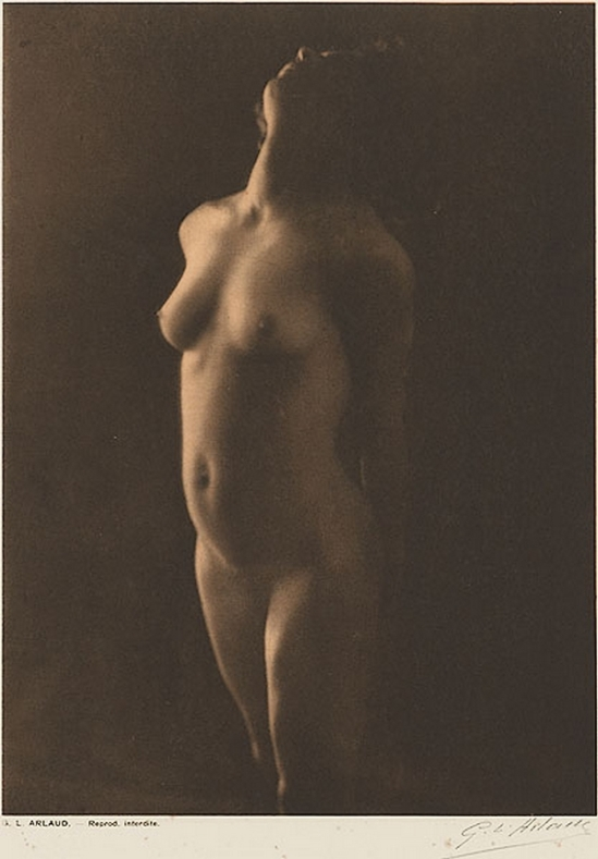 Etude G. L Arlaud -Lumiere, from Vingt Études de Nu en Plein Air, 1920