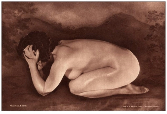 Etude G. L Arlaud -Madeleine, 1930
