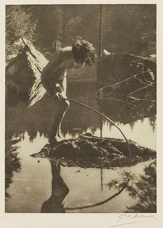 Etude G. L Arlaud -Mirage, from Vingt Études de Nu en Plein Air, 1920