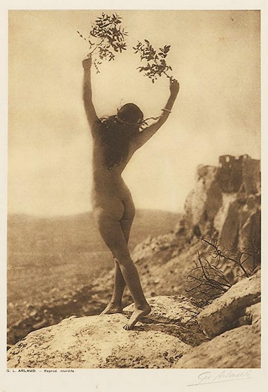 Etude G. L Arlaud -Pax, from Vingt Études de Nu en Plein Air, 1920