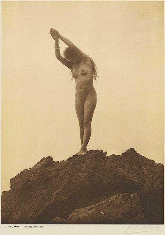 Etude G. L Arlaud -Plongeuse, from Vingt Études de Nu en Plein Air, 1920