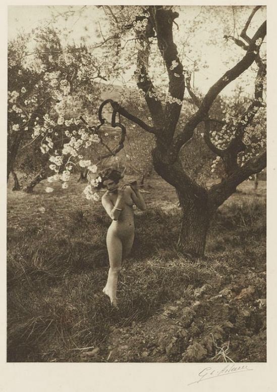 Etude G. L Arlaud -Printemps de Provence, from Vingt Études de Nu en Plein Air, 1920