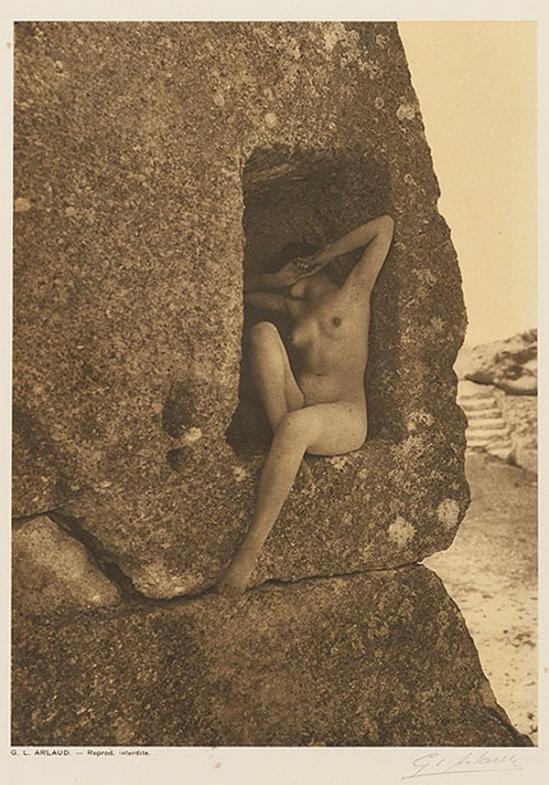Etude G. L Arlaud -Surprise, from Vingt Études de Nu en Plein Air, 1920