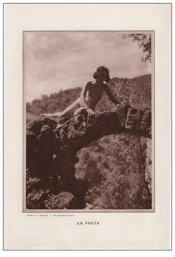 Etude G. L Arlaud -  Voute Ruines, 1930