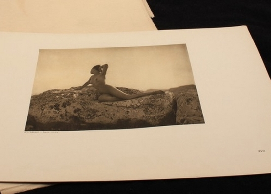 G.L. Arlaud  Portfolio  G.L. Arlaud Vingt Etudes de Nu en Plein Air (Paris, Horos Editions, 1920)  [Vingt Etudes de Nu en Plein Air]  1920