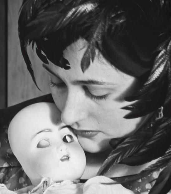 John Gutmann-Father Doll, 1951