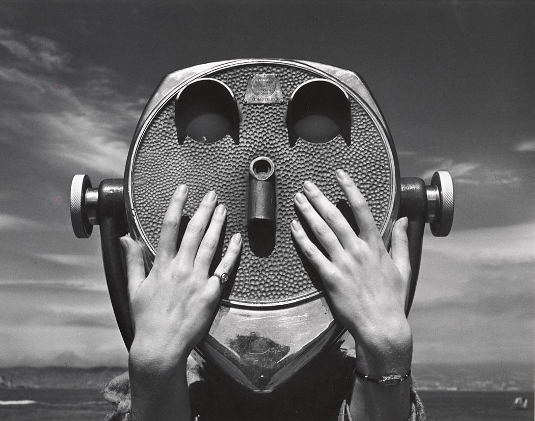 John Gutmann-Hands on Teleface, 1938