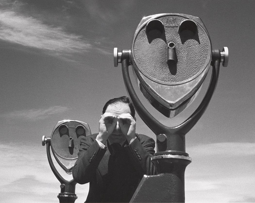 John Gutmann-J.G. Searching for Distant Views, 1938