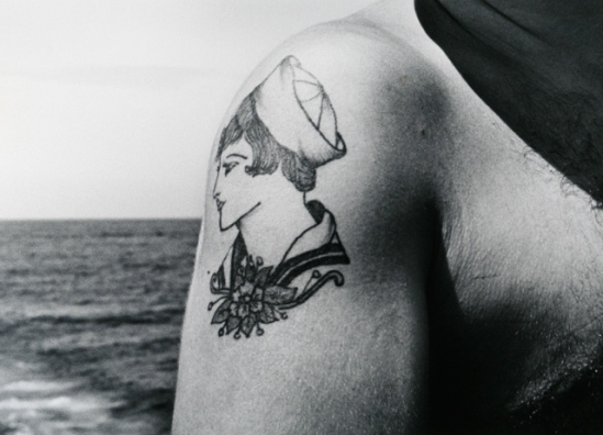 John Gutmann - Sailor girl Tatoo, 1945