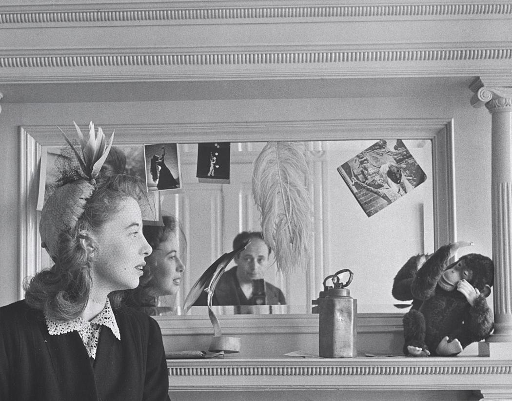 John Gutmann-Self Portrait with Irene, 1940