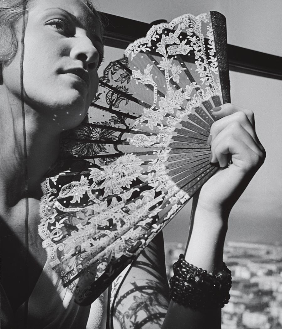 John Gutmann-The Fan, 1935