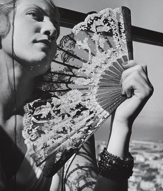 John Gutmann-The Fan, 1935