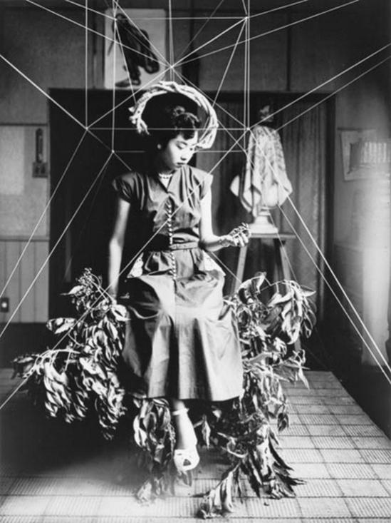 Kiyoji Ohtsuji - Portrait of the Artist, Hideko Fukushima  from Kiyoji Ohtsuji Portfolio, 1950