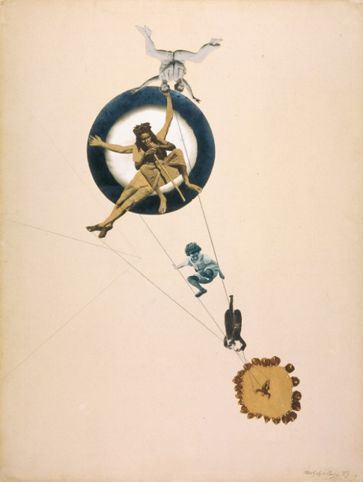László Moholy-Nagy Between sky an earth or Behind the back of god, 1923