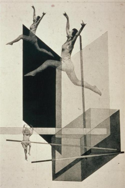 László Moholy-Nagy- Human Mechanics, 1925