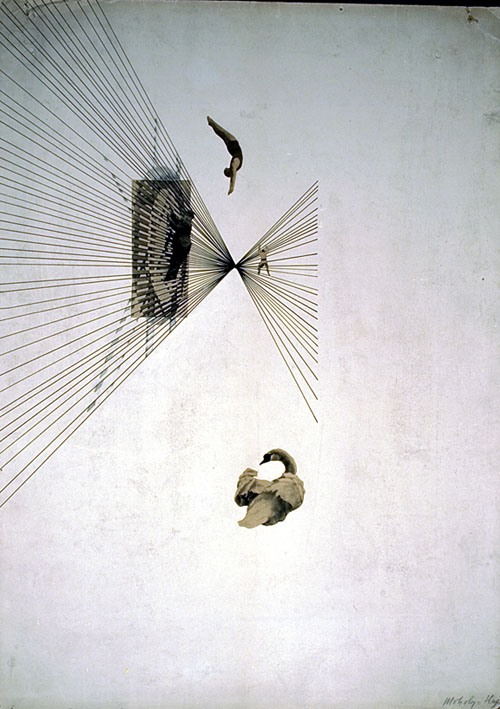 László Moholy-Nagy-Leda and the swan. 1925