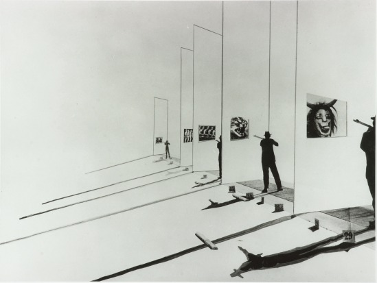 László Moholy-Nagy - The Shooting Gallery, 1925-27