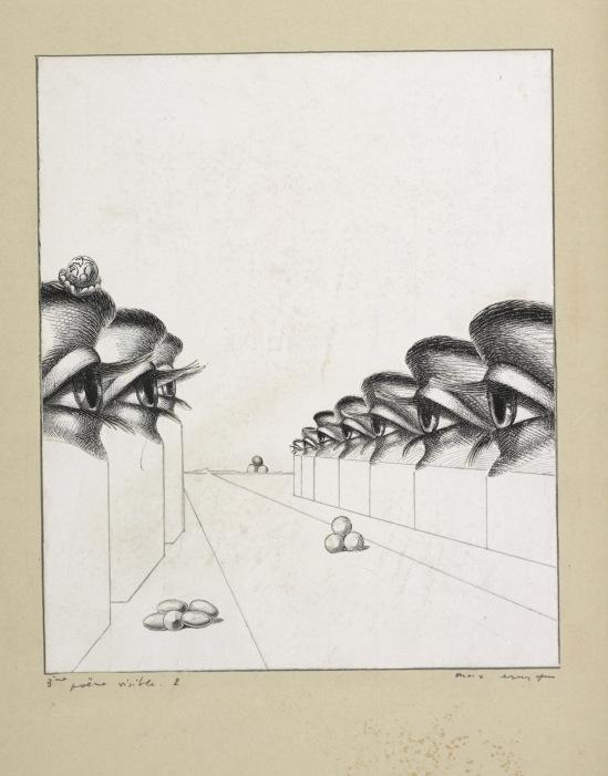 Max Ernst, Collage tiré de Une semaine de bonté, Troisième poème visible 1, 1933 © Isidore Ducasse