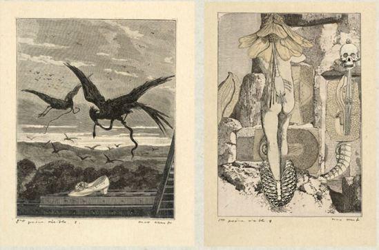 Max Ernst- Une semaine de bonté Jeudi Vendredi Samedi Cahier , 1934 2