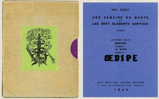 Max Ernst- Une semaine de bonté quatrieme cahier Mercredi OedipeCahier 1934