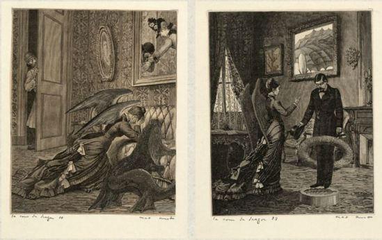 Max Ernst- Une semaine de bonté troisème cahier Mardi, La cour du DragonCahier 1934 1