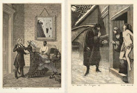 Max Ernst- Une semaine de bonté troisème cahier Mardi, La cour du DragonCahier 1934 2